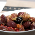 marinated kalamata black olives