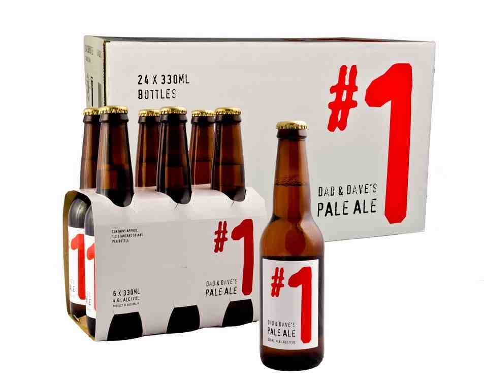 Dad & Dave's #1 Pale Ale now available