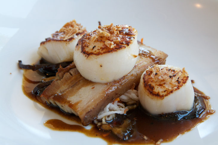 scallops-pork-belly