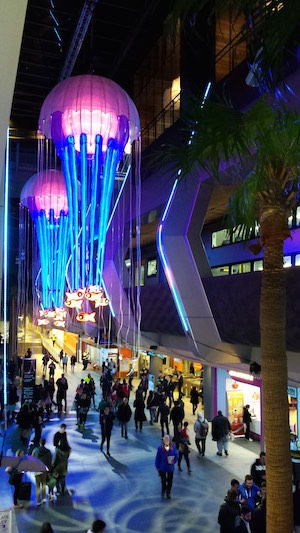 Vivid-Chatswood-train