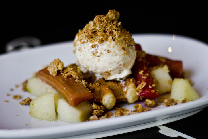 Waffle-with-Apple-Rhubarb