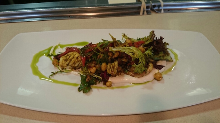 Wood roasted southern calamari manly