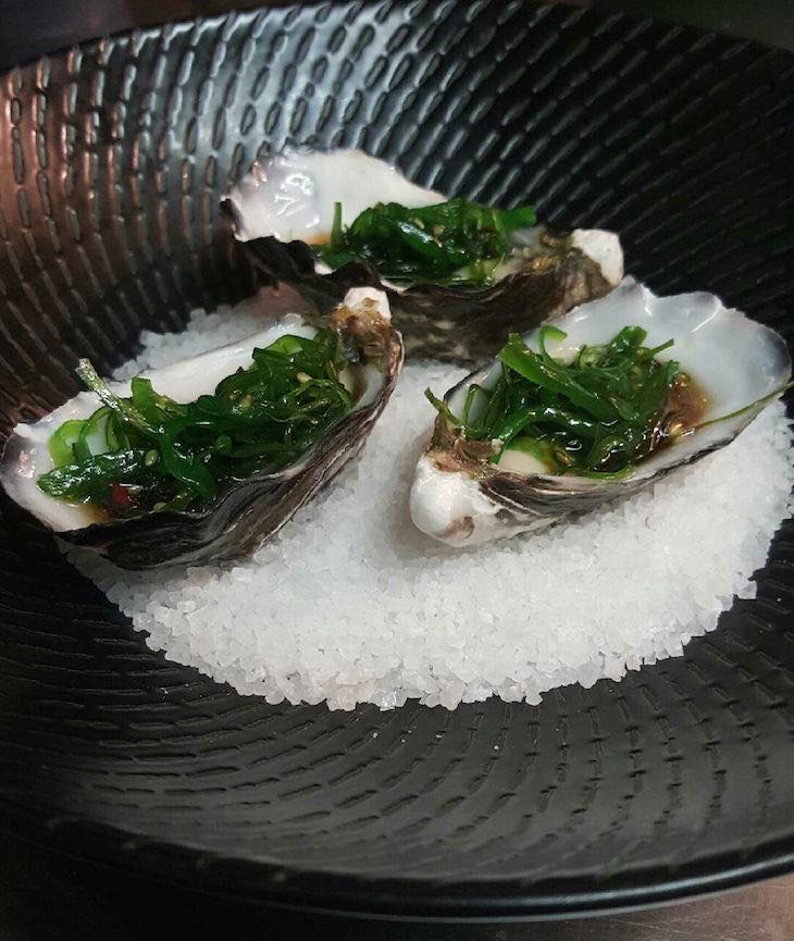 Cloudy Bay oysters K