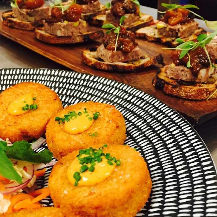 Manly canape event