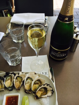 Crows Nest oyster and champagne special
