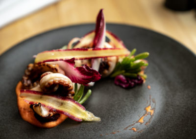 Char-grilled Octopus