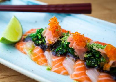 Salmon & Kingfish Sashimi