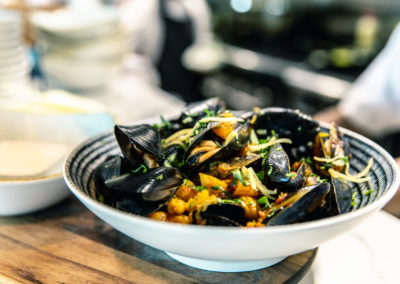 Black Kinkawooka Mussels