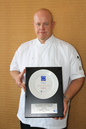 """Best Seafood Restaurant"" – Garfish Manly wins 2011"