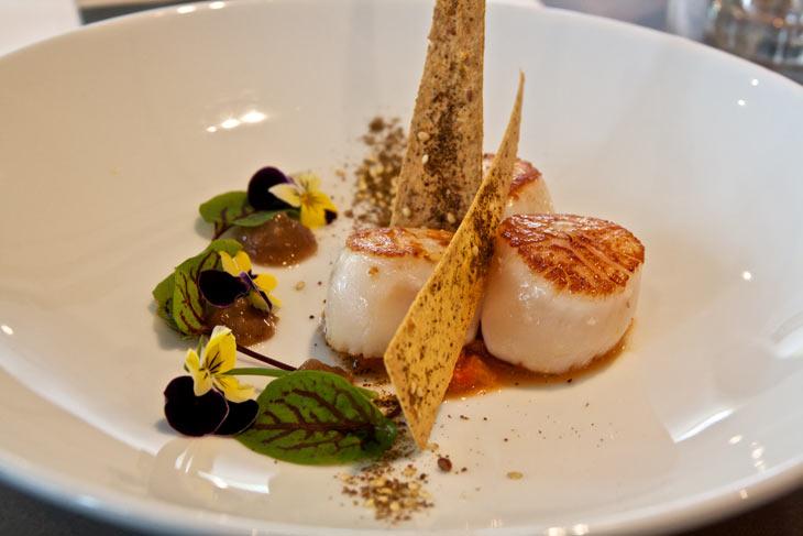 Garfish-grilled-scallops