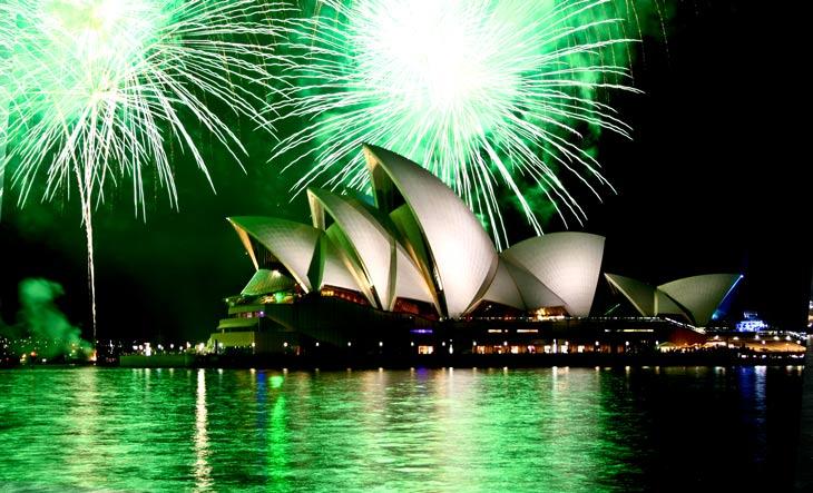 New Year's Eve 2014 celebrations at Garfish