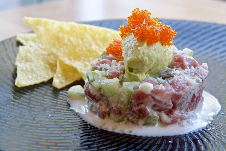 Manly menu feature: yellowfin tuna ceviche