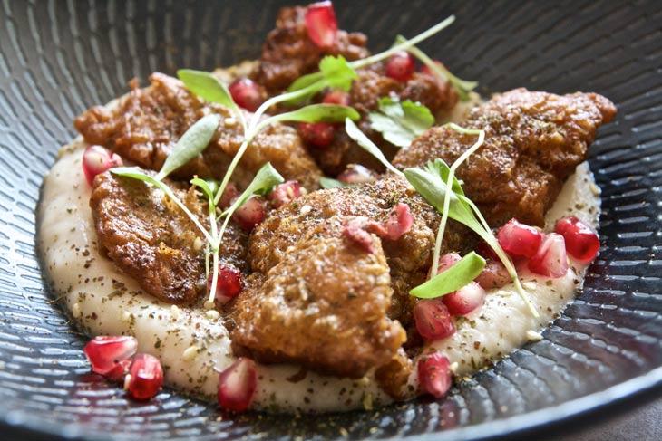 Kirribilli Autumn menu feature: veal sweetbreads