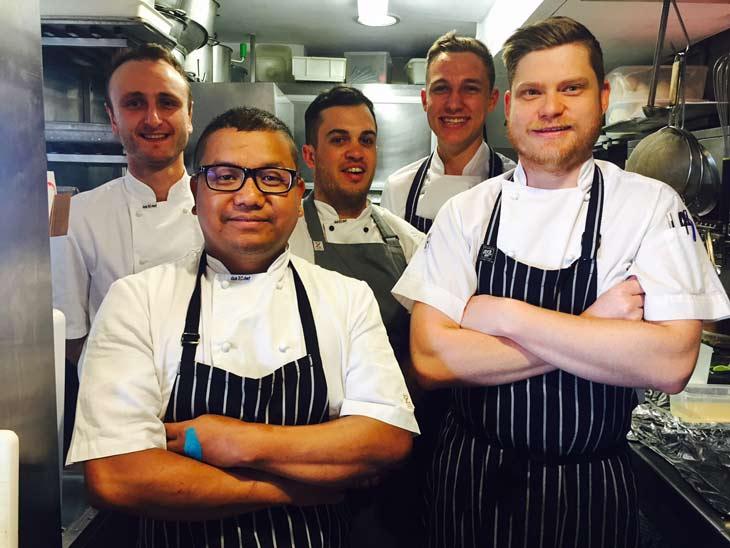Garfish Kirribilli Seafood Team