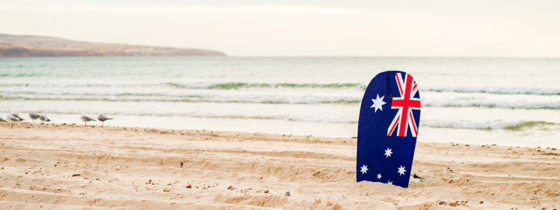 Celebrate Australia Day at Garfish!