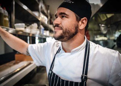 Head Chef Scott